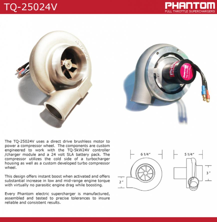 General Electric Turbocharger: Phantom Superchargers ESC