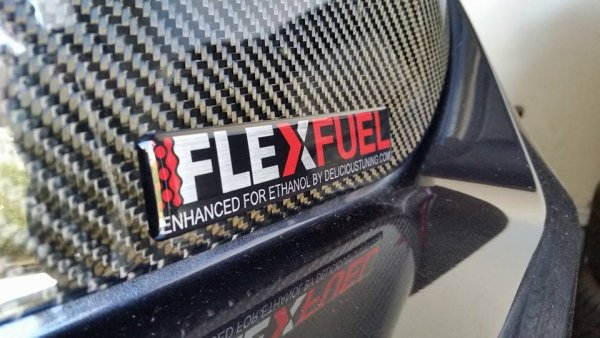 Flex Fuel Badge Delicious Tuning